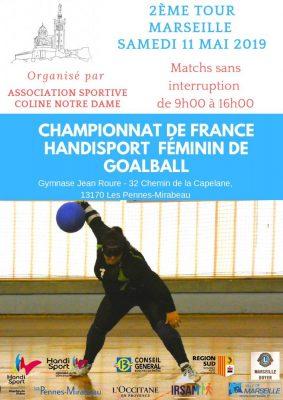 Championnat De France Handisport Féminin de Goalball 2019