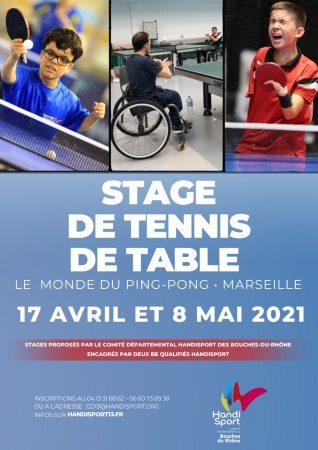 Stage de Tennis de Table